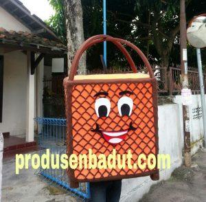 Badut Maskot KPU Banjarnegara Gerobak Es Dawet