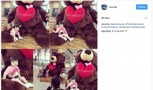 Boneka Teddy Bear Jumbo Bali Airport