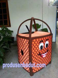 Produsen Badut Maskot KPU Banjarnegara Gerobak Es Dawet