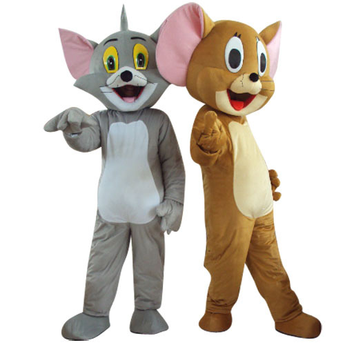 Tempat Sewa Badut Lucu Tom and Jerry di Yogyakarta