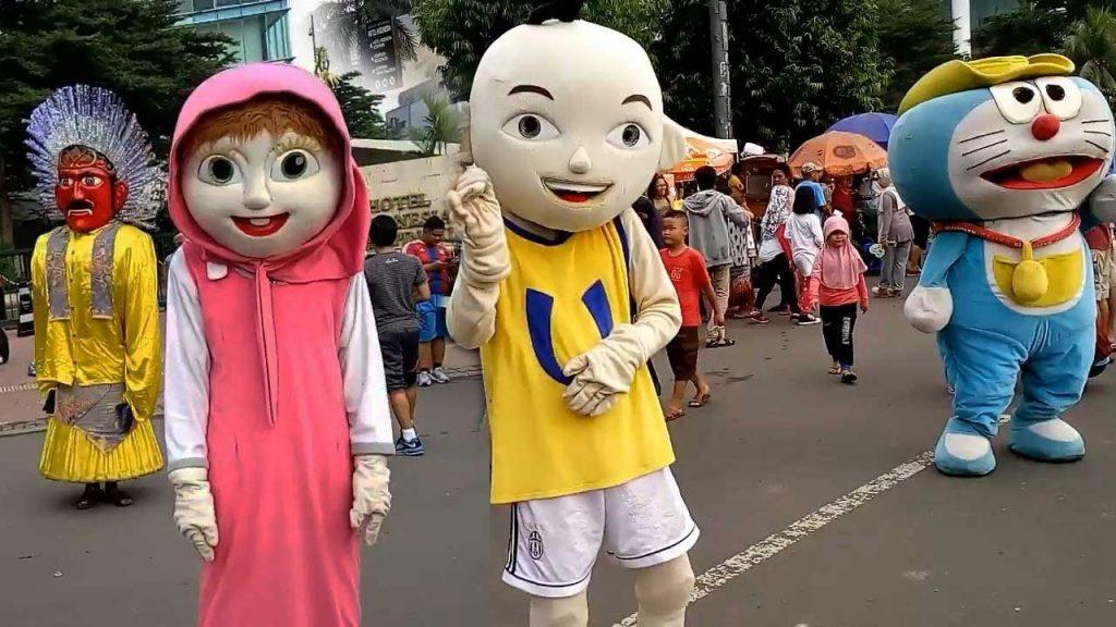 Produsen Badut Ulang Tahun Upin dan Ipin di Jogja