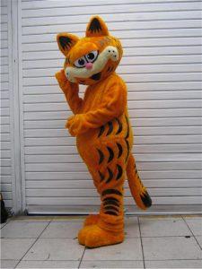 Produsen Badut Garfield si Kucing Lucu
