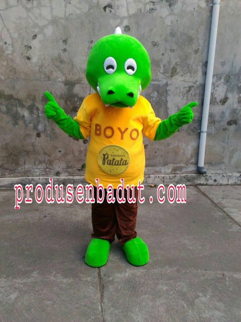 Produsen Badut Maskot Surabaya Patata Oki Setiana Dewi