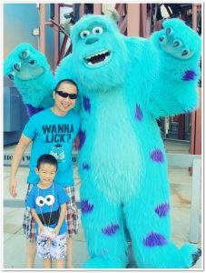Sewa Kostum Badut Monster Inc di Indonesia