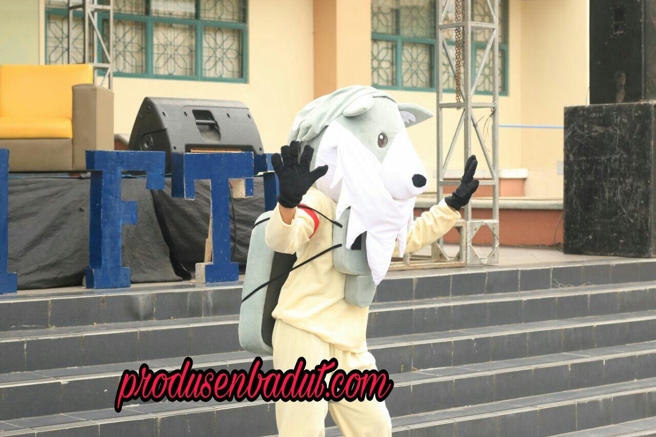 Produsen Badut Serigala Ospek Fakultas Teknik UII Yogyakarta