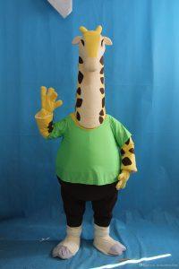 Produsen Kostum Badut Jerapah Acara Ulang Tahun Anak