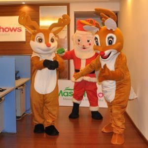 Produsen Badut Event Hari Raya Natal Karakter Rusa