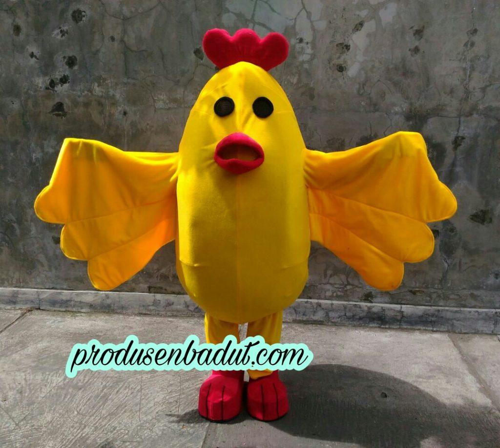 Produsen Badut Maskot Ayam Wek Wek Chicken