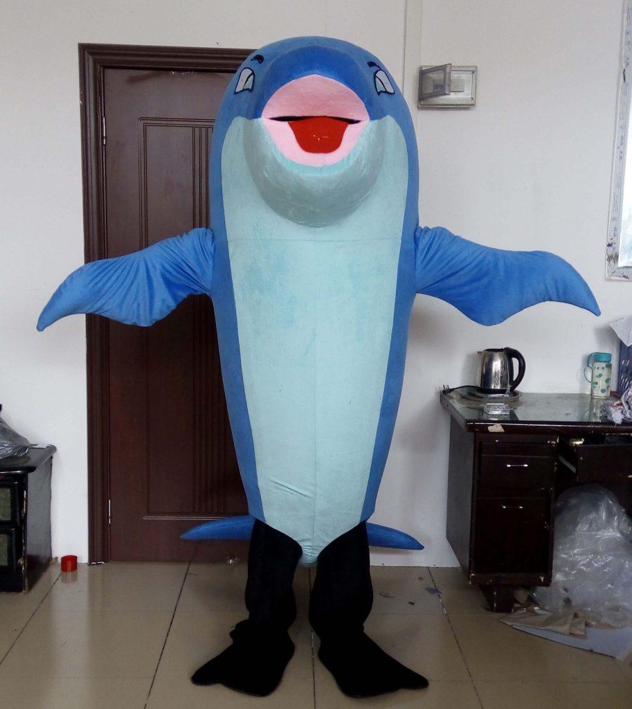 Produsen Kostum Badut Dolphin Murah di Yogyakarta