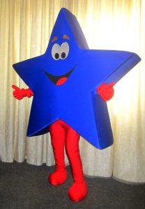 Produsen Kostum Badut Karakter Bintang Lucu di Jogja