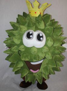 Produsen Kostum Badut Karakter Durian Lucu di Indonesia