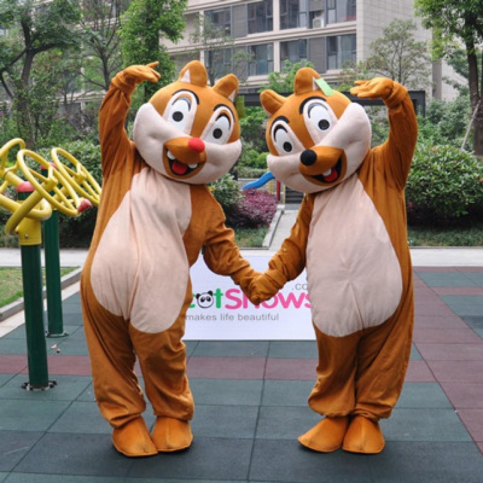 Produsen Badut Event Ulang Tahun Karakter Chip Chipmunk Squirrel