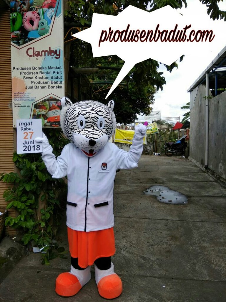 Produsen Badut Maskot Maskot Macan Putih Kediri Jawa Timur