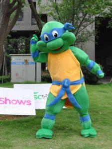 Produsen Badut Event Karakter Ninja Turtle