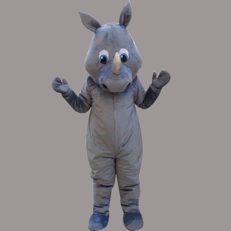 Produsen Badut Maskot Karakter Badak Untuk Promosi Hewan Langka