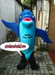 Produsen Badut Maskot Promosi Dolphin Raja Ampat