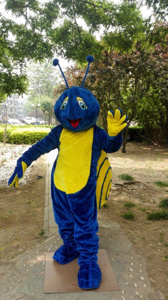 Produsen Badut Event Murah Karakter Siput di Yogyakarta