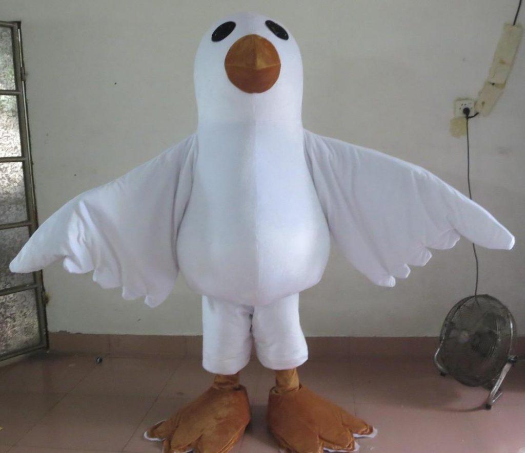 Produsen Badut Maskot untuk Event Karakter Burung Merpati