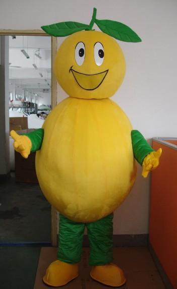 Produsen Badut Maskot Cafe Karakter Buah Lemon