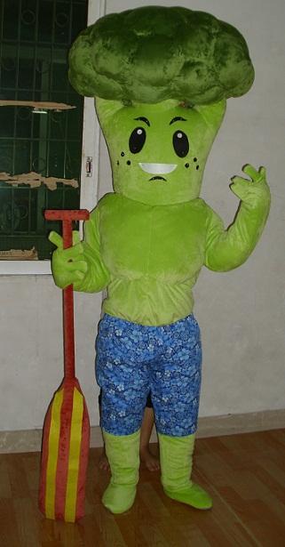 Produsen Badut Maskot Restauran Karakter Brokoli