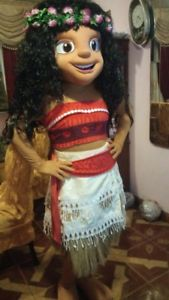 Produsen Badut Promosi Karakter Disney Princess Moana