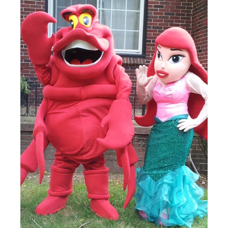 Produsen Badut Ulang Tahun Karakter Ariel Disney