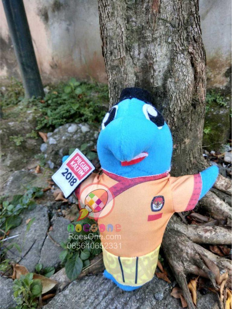 Produsen Boneka Maskot Pemilihan Gubernur Kalimantan Timur