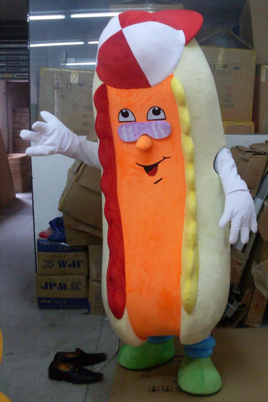 Produsen Badut Maskot Fast Food Hot Dog Makanan Kekinian