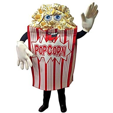 Produsen Badut Maskot dan Promosi Karakter Popcorn