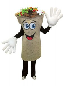 Produsen Badut Promosi Burrito Makanan Khas Meksiko