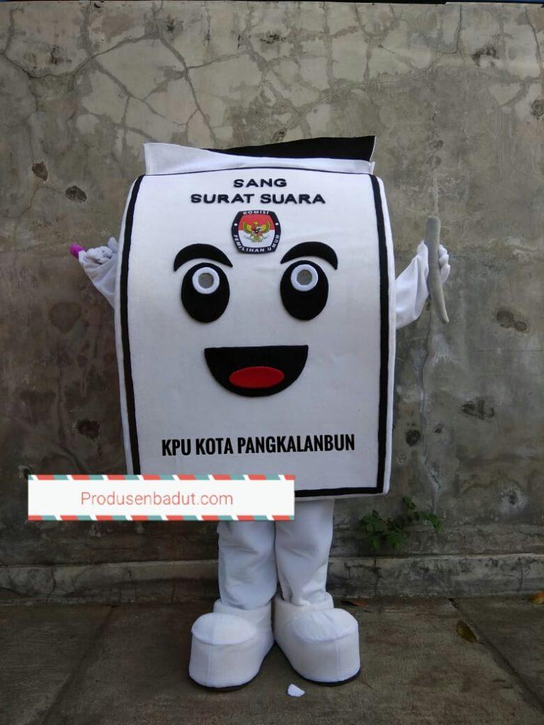 Pembuat Badut Pemilu Serentak 2019 KPU Kota Pangkalanbun
