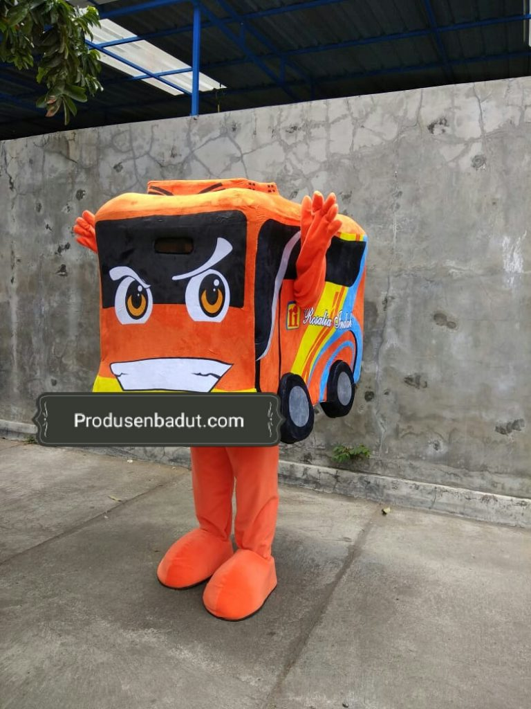 Pembuat Kostum Badut Promosi Bus Rosalia Indah