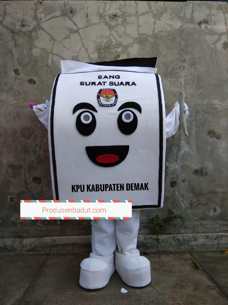 Produsen Badut Maskot KPU Kabupaten Demak