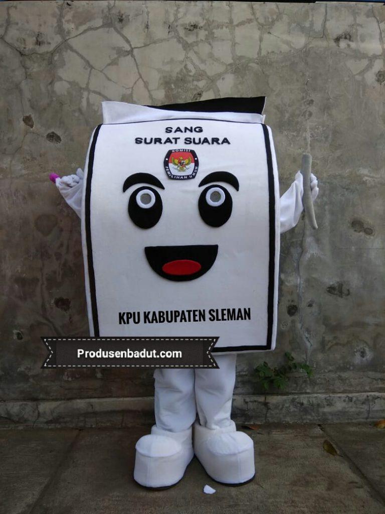 Produsen Badut Maskot KPU Kabupaten Sleman
