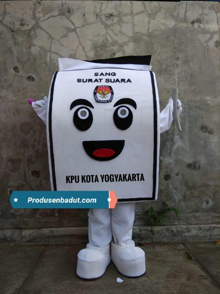 Produsen Badut Maskot KPU Kota Yogyakarta