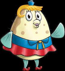 Contoh Desain Kostum Badut Karakter Mrs Puff Serial SpongeBob