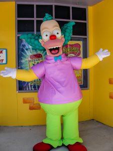 Jasa Sewa Badut Ulang Tahun Anak Krusty the Clown
