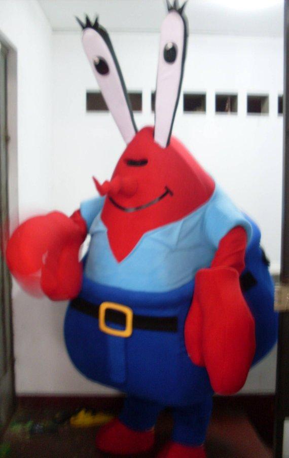Pembuat Badut Karakter Mr Krab Murah