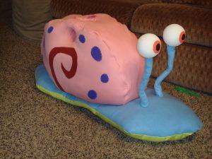 Produsen Badut Maskot Gary the Snail