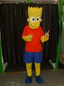 Produsen Badut Promosi Serial Animasi Bart Simpson