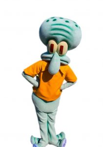 Produsen Badut Ulang Tahun Anak Karakter Squidward