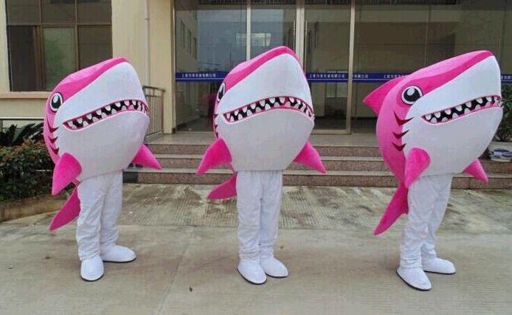 Produsen Kostum Badut Pink Shark ala Pearl