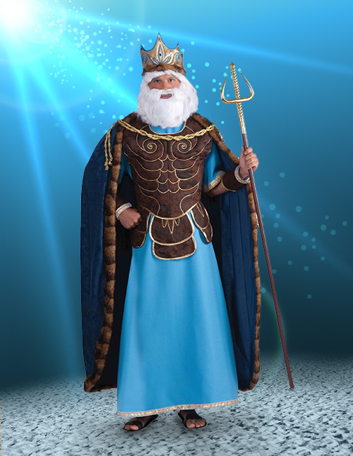 Pembuat Kostum Badut Event Karakter Raja Neptunus
