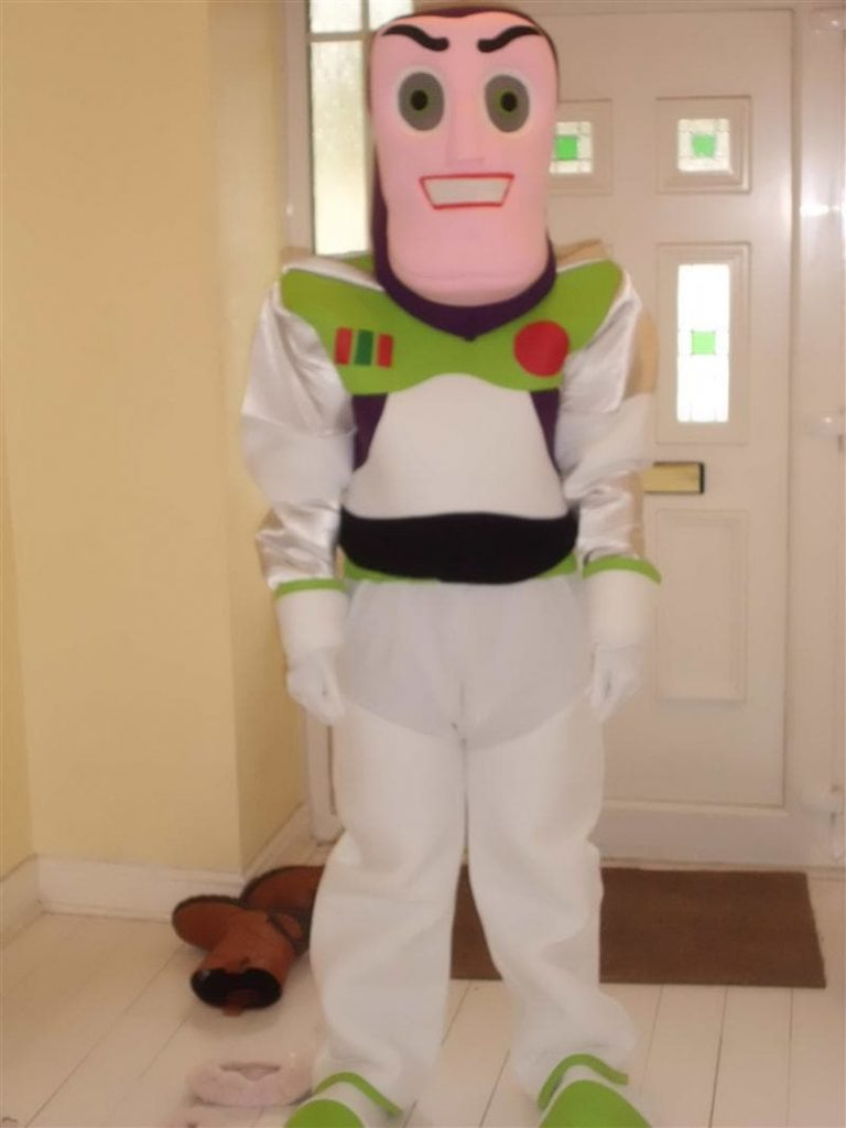 Pembuat Kostum Badut Toy Story Buzz Lightyear