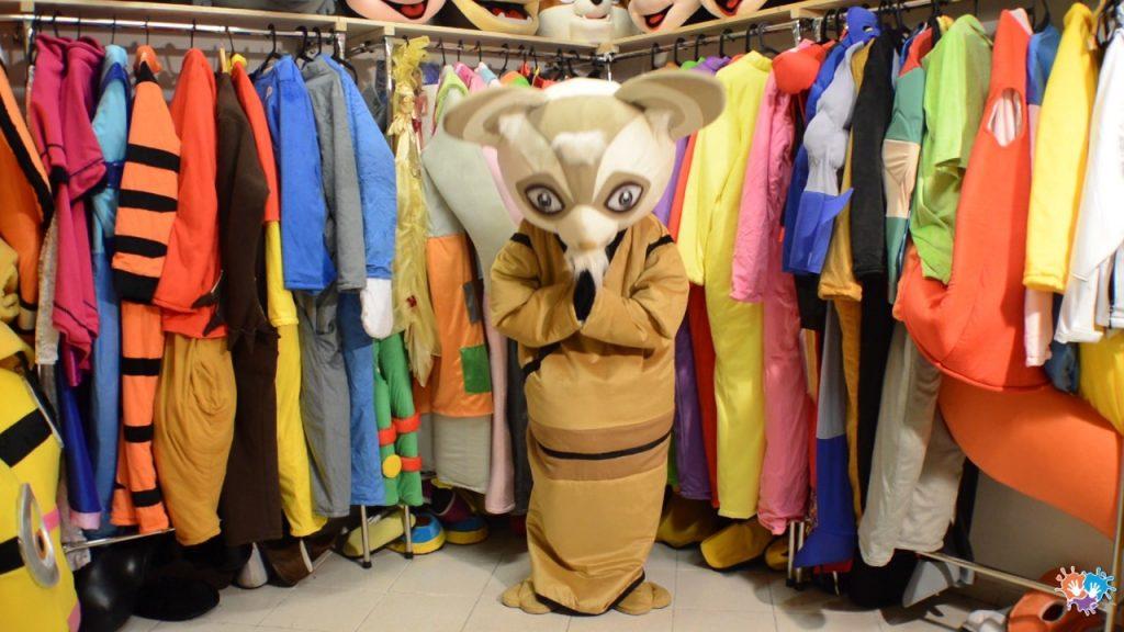 Produsen Kostum Badut Karakte Master Shifu