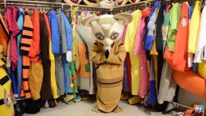 Produsen Kostum Badut Karakter Master Shifu