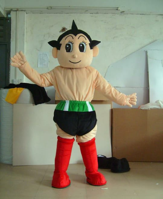 Layanan Pembuat Badut Event Karakter Astro Boy