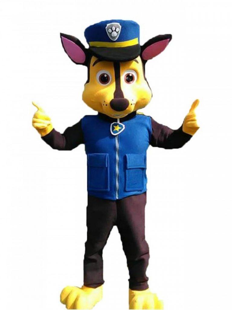 Jasa Pembuat Badut Paw Patrol Karakter Chase Lucu
