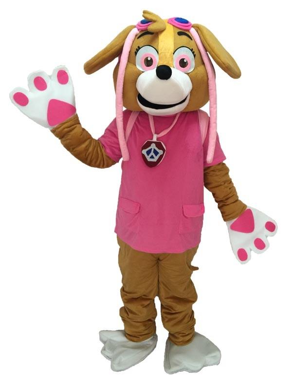 Layanan Pembuat Badut Maskot Paw Patrol Skye Pink