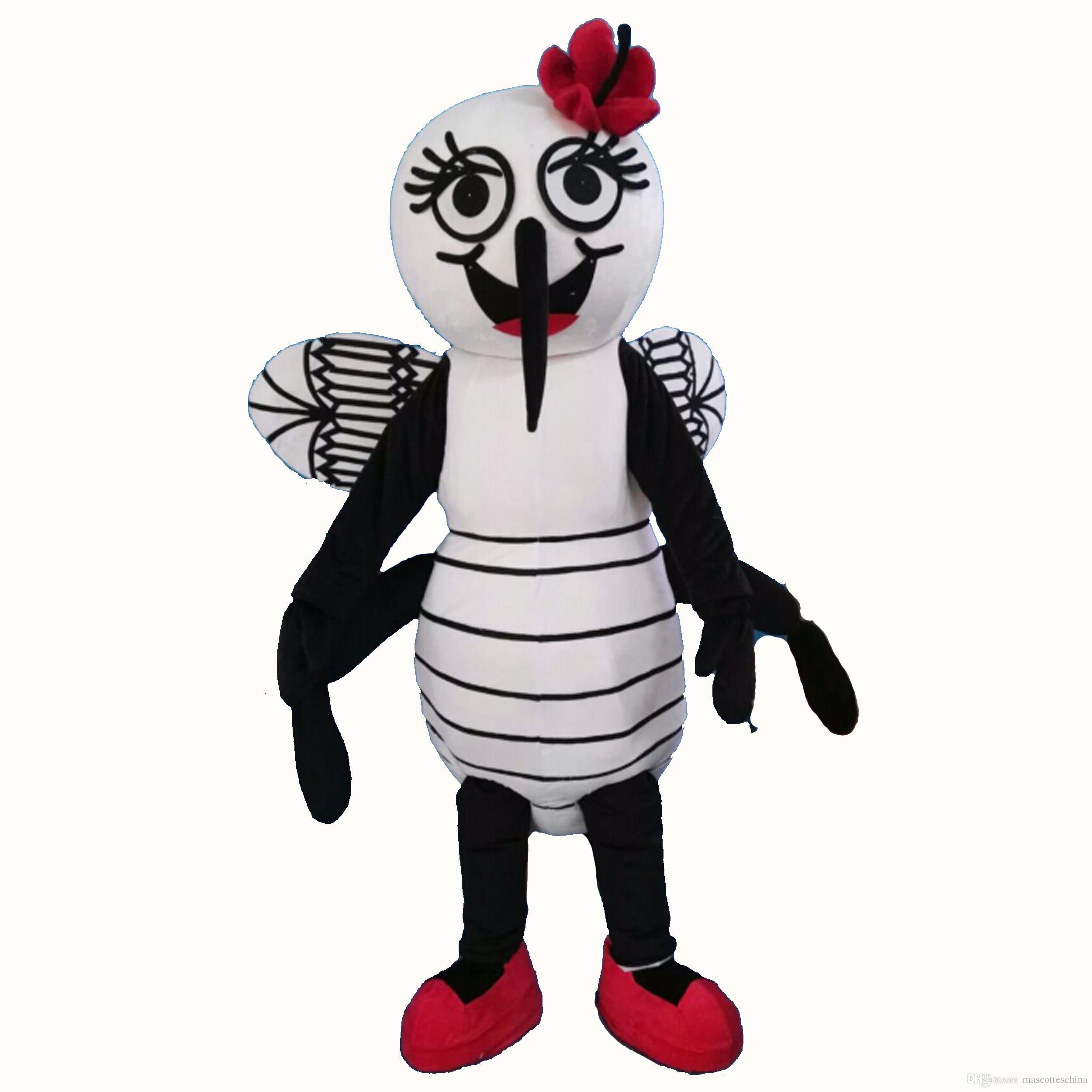 Pembuat Kostum Badut Nyamuk untuk Event Mencegah Demam Berdarah